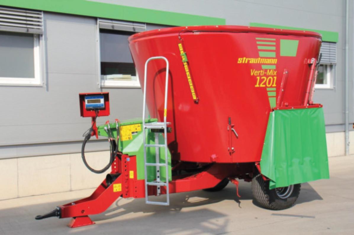 NOVINKA! Stratutmann představil nový krmný vůz Verti-Mix 1201